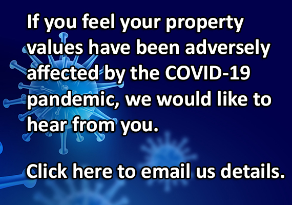 Email us regarding COVID values