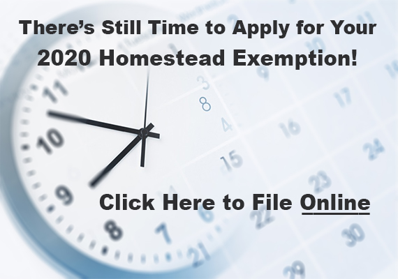 Late-file your homestead exemption
