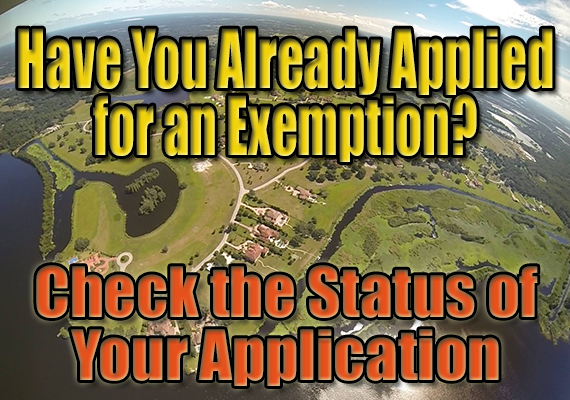 Check your exemption status here